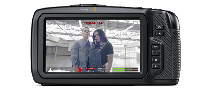 La Nuova Blackmagic Design Pocket Cinema Camera 6K