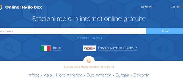 Le radio del mondo a portata di click
