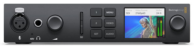 Blackmagic Design presenta UltraStudio 4K Mini