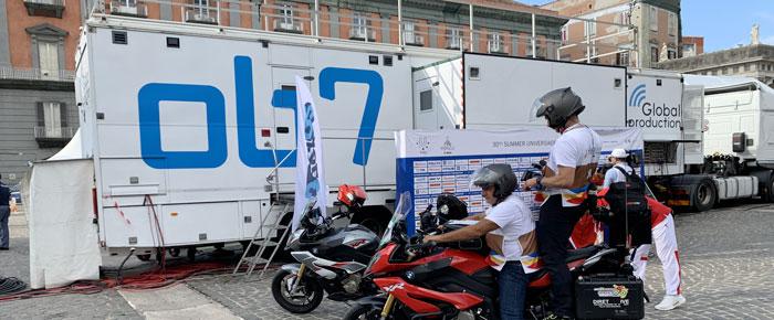 """Il Gruppo Euro Media per """"XXX Summer Universiade"""""""