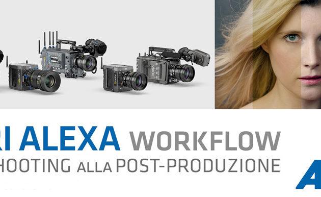 Workshop dedicato al flusso di lavoro con le camere ARRI ALEXA