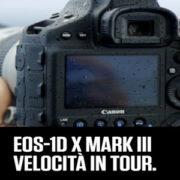 Canon EOS-1D X MARK III, velocità in Tour