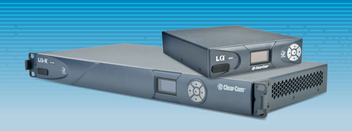 Le Interfacce IP della LQ Series di Clearcom distribuite da Video Progetti