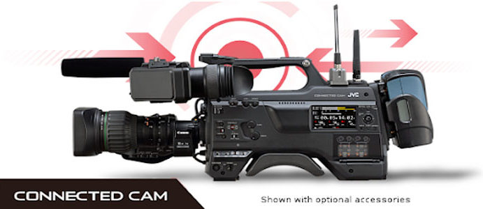 Supporto SRT per le Connected Cam di JVC