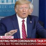Le Tv americane: stop a dirette di Trump