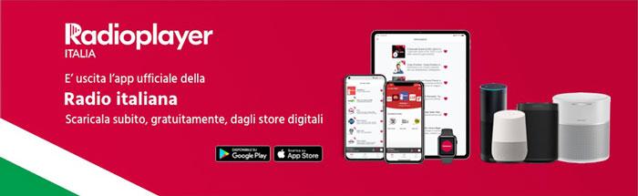 Radioplayer Italia, la radiofonia italiana in una app