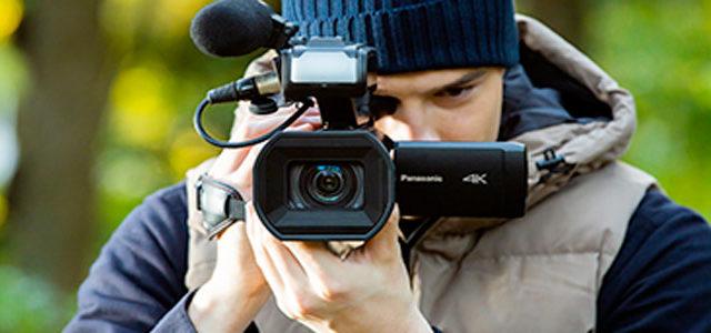 Panasonic AG-CX10, camcorder 4K a 50P/60P
