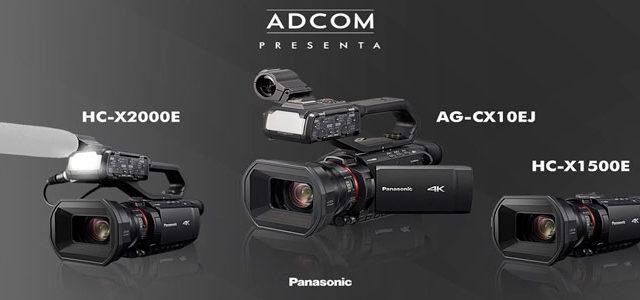 Le camere professionali Panasonic in diretta il 18 giugno da Adcom