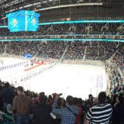 Professional Show per Ice Hockey Arena di Astana, in Kazakistan